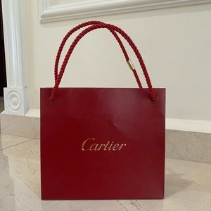 Cartier Jewelry Gift Bag